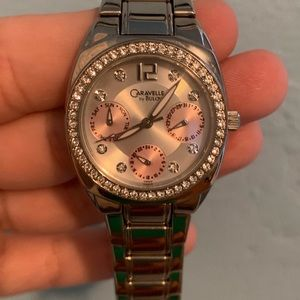 Caravelle by Bulova chronograph women's watch